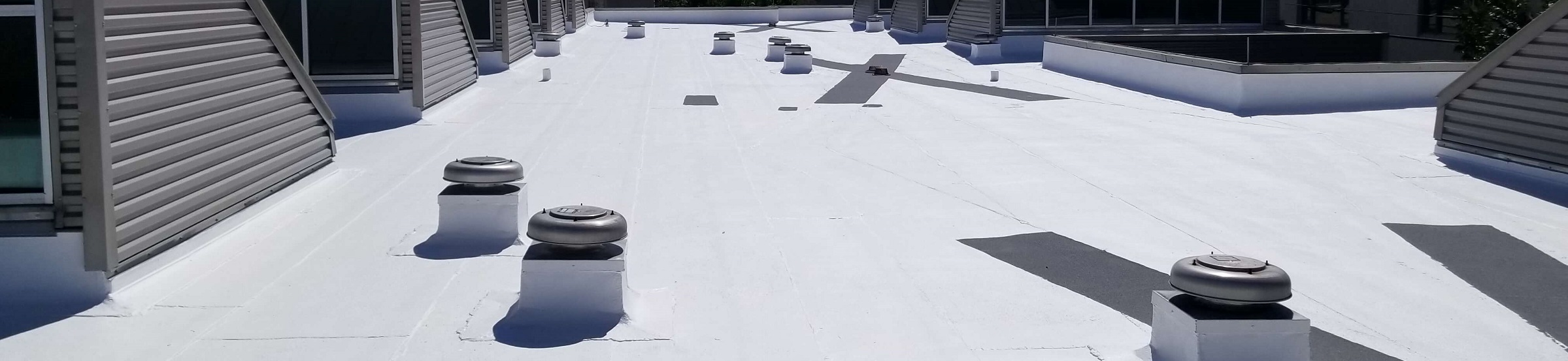 Fluid Applied Reinforced Roofing Systems - Structure Roof